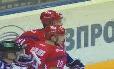 Video: Sprukts un Miķelis Rēdlihs 'uguņo' 'Lokomotiv' pēdējā spēlē pirms Gagarina kausa