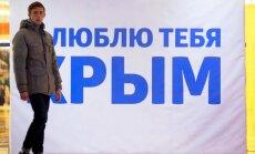 Bez Krimas atgūšanas attiecības ar Krieviju nevar atjaunot, paziņo Ukrainas ministrs