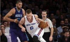 Porziņģis pārspējis Biedriņa NBA debijas sezonas sasniegumus