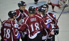 'Rīgas' hokejisti mača izskaņā pieveic Čehijas komandu 'Energie'