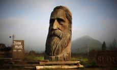 Dienas ceļojumu foto: 'Koka milzis' starp simtiem gadus vecām sekvojām