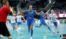 Somijas florbolistēm neizdodas gāzt Zviedriju no pasaules čempioņu troņa