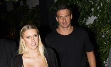 Peldētājs Lohte apprecējies ar 'Playboy' modeli