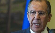 Sīrijas džihādistu mērķis ir sekulāru valstu iznīcināšana, norāda Lavrovs