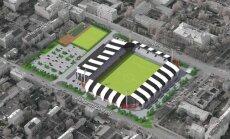 LFF stadiona būvniecības izmaksas varētu pieaugt līdz pat 15 miljoniem eiro