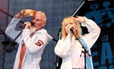 """Grupa """"Pērkons"""" uzstājas pludmales festivālā """"Baltic Peach Party"""""""