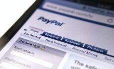 'eBay' atdalīs struktūrvienību 'PayPal' atsevišķā uzņēmumā