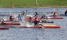 Jelgavā aizvadīts Latvijas un Baltijas čempionāts smaiļošanā un kanoe airēšanā