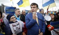 Saakašvili iecelts par Odesas apgabala gubernatoru