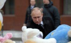 """Путин назвал """"удобной"""" версию """"о каких-то злоумышленниках"""" в ТЦ """"Зимняя вишня"""""""