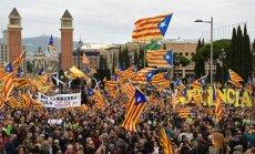 Katalonijas policija brīdina par nemieru risku