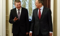 Rinkēvičs: lai atceltu sankcijas, Krievijai jāsāk pildīt panāktās vienošanās