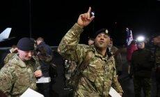 Фото: прибытие войск НАТО в Эстонию