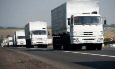 Ukrainā iebraucis desmitais Krievijas 'humānais konvojs'