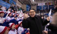 Foto: Olimpiādē jezgu rada Kima Čenuna līdzinieks
