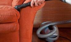 Mājas uzkopšanas darbi, kuros lieti noderēs putekļusūcējs