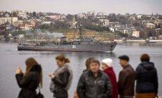 Pēc sprādziena Krima paliek bez elektrības