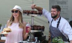 ФОТО: На Эспланаде состоялся второй Рижский фестиваль бургеров