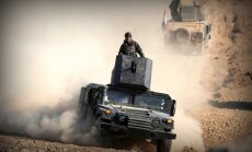 Karte: Irākas armija ielaužas trīs Mosulas dienvidu rajonos