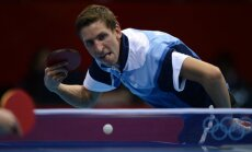 Latvijas galda tenisisti Eiropas komandu čempionātā piekāpjas Dānijai
