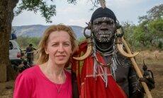 Kā latviete iemīlējās Āfrikā: daiļdārzniece Indra no Strenčiem, kas ziemas pavada Etiopijā