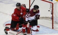 Latvijas hokejisti pirmo reizi iekļūst olimpisko spēļu ceturtdaļfinālā