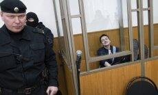 Krievijas tiesa Savčenko piespriež 22 gadu cietumsodu