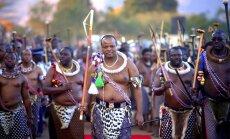 Āfrikas monarhs savu karalisti pārdēvē par eSvatini
