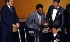 Platini, Pele, Kristianu Ronaldu