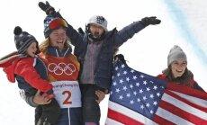 Amerikāņu frīstailists Vaiss kļūst par pirmo divkārtējo olimpisko čempionu rampā