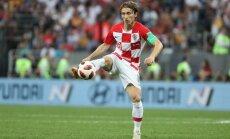 Modričs kļūst par Pasaules kausa izcīņas labāko futbolistu