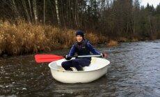 Latvijā radītas speciālas 'rupučlaivas' makšķerniekiem un ceļotājiem