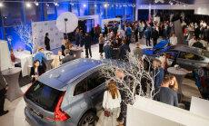 Foto: Rīgā svinīgi atklāts modernizētais 'Volvo' autocentrs