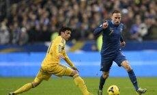Francijas futbola izlase uz Pasaules kausu dodas ar Riberī sastāvā