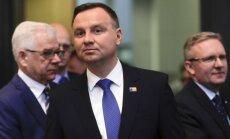 Polijas prezidents: Diskusijas par NATO aizsardzības izdevumiem nāk par labu alianses austrumu valstīm
