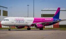Zemo cenu aviosabiedrība 'Wizz Air' lidos no Rīgas uz Kijevu