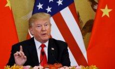 Tramps Ziemeļkorejas sankciju lietā vīlies Ķīnā