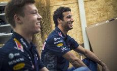 'Red Bull' F-1 komanda saglabās Rikjardo un Kvjatu