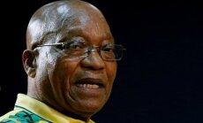 Nākamnedēļ varētu paziņot par Dienvidāfrikas prezidenta atkāpšanos no amata