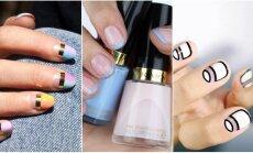 Графика, блестки и металл: идеи для модного дизайна ногтей на эту зиму