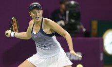 Ostapenko Madrides turnīrā zaudē Vesņinai