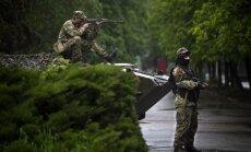 Armija pie Slovjanskas atsāk uzbrukumus nemiernieku kontrolposteņiem (plkst. 10:21)