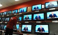 Deputāti bažīgi par Krievijas televīzijas kanālu īpatsvaru TV piedāvājumā