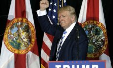 Tramps kļūst par nākamo ASV prezidentu