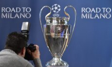 Čempionu līgas pusfinālā Mančestras 'City' pret 'Real' un 'Atletico' pret 'Bayern'
