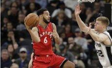 Bertāns sev atvēlētajā laikā nospēlē produktīvi un palīdz 'Spurs' sakaut 'Raptors'