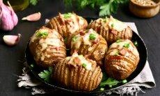 Pirmsalgas stāvoklis: 16 lētas gardu krāsnī ceptu kartupeļu receptes