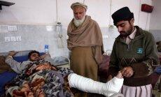 Afganistānas un Pakistānas pierobežas zemestrīci sajūt pat Indijā