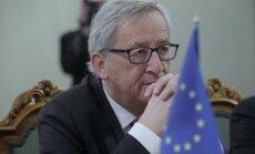 Юнкер хвалит работу Домбровскиса в европейских структурах