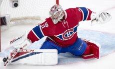 Kerijs Praiss ar jauno 'Canadiens' līgumu kļuvis par dārgāko NHL vārtsargu